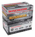 """Picture of WINCHESTER BUSHMAN 12G BB 2-3/4"""" 34GM"""