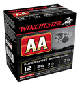 "Picture of WINCHESTER AA SUPER SPORTING 12G 7.5 2-3/4"" 28GM"