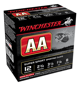 "Picture of WINCHESTER AA SUPER SPORTING 12G 8 2-3/4"" 32GM TARGET SHOTSHELL"