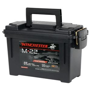 Picture of WINCHESTER M22 40GR LONG RIFLE ROUNDS IN PLANO CASE